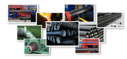 DUCTILE SOCKET SPIGOT CENTRIFUGAL PIPES